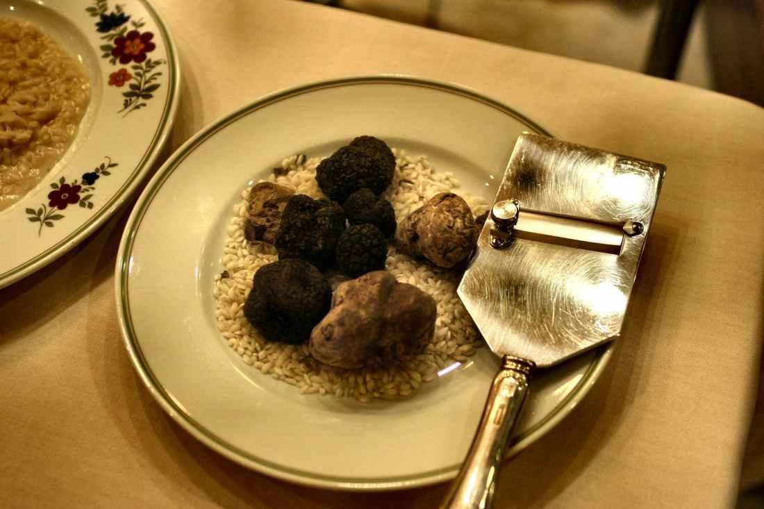 shaved truffles